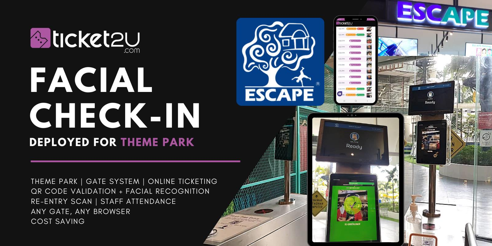 Ticket2U Facial Recognition Check-In