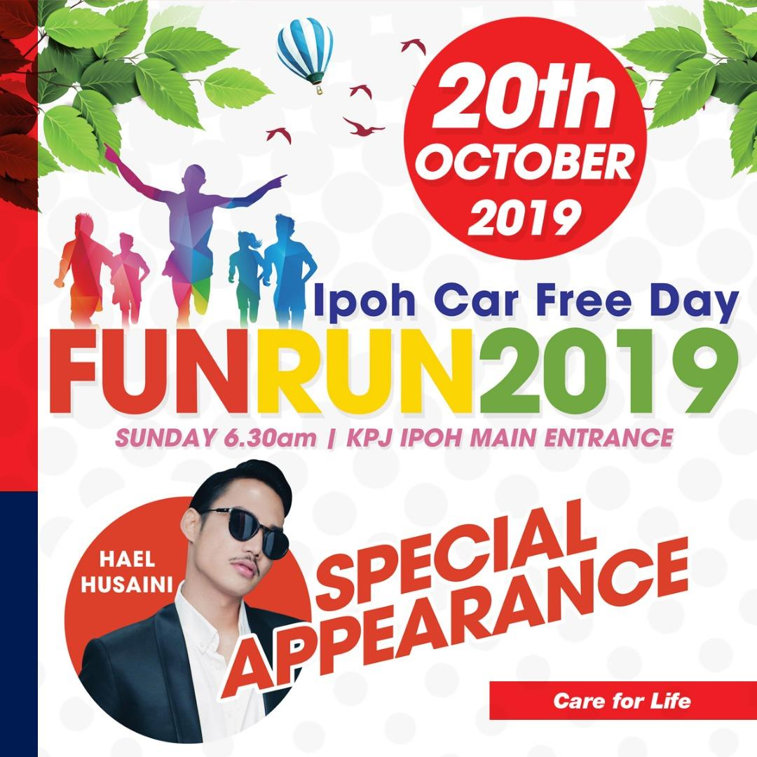Ipoh Car Free Day Fun Run 2019