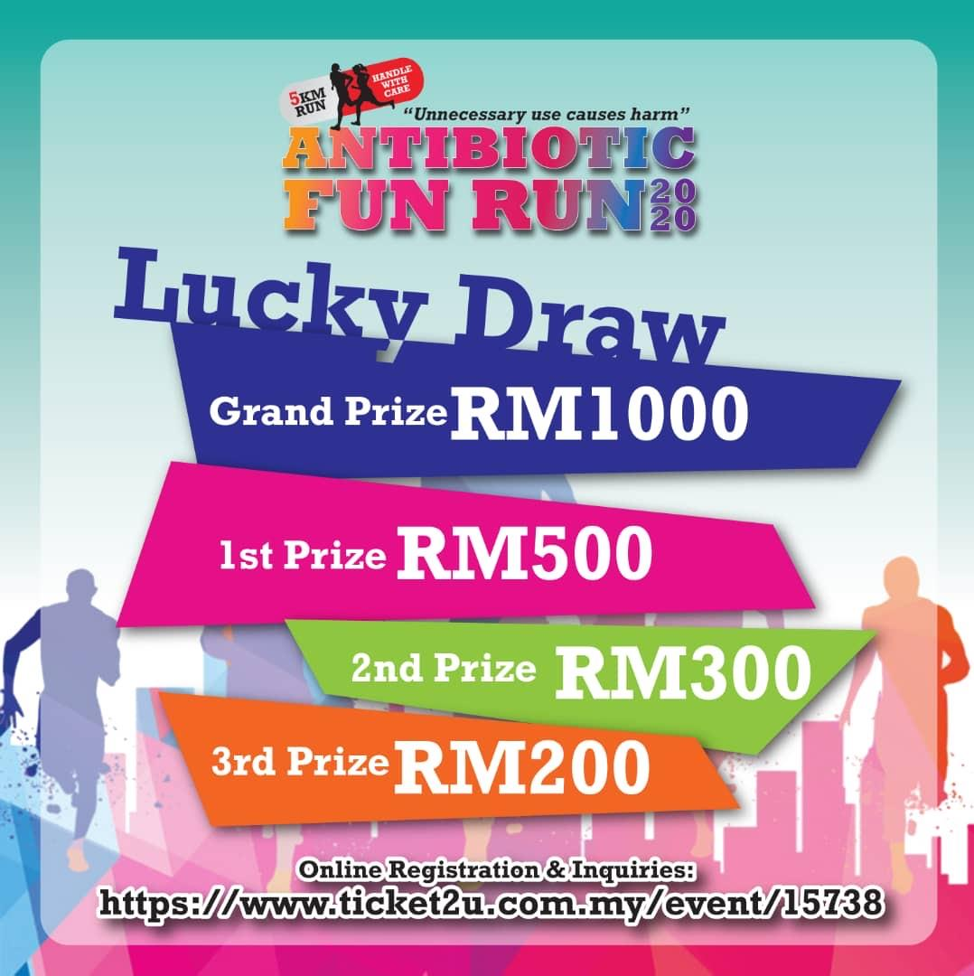 ANTIBIOTIC FUN RUN 2020