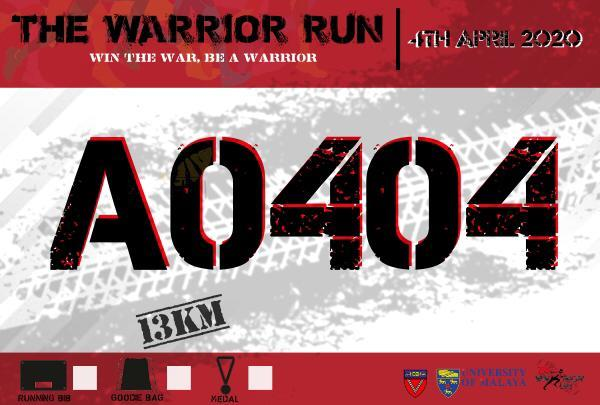 THE WARRIOR RUN 3.0