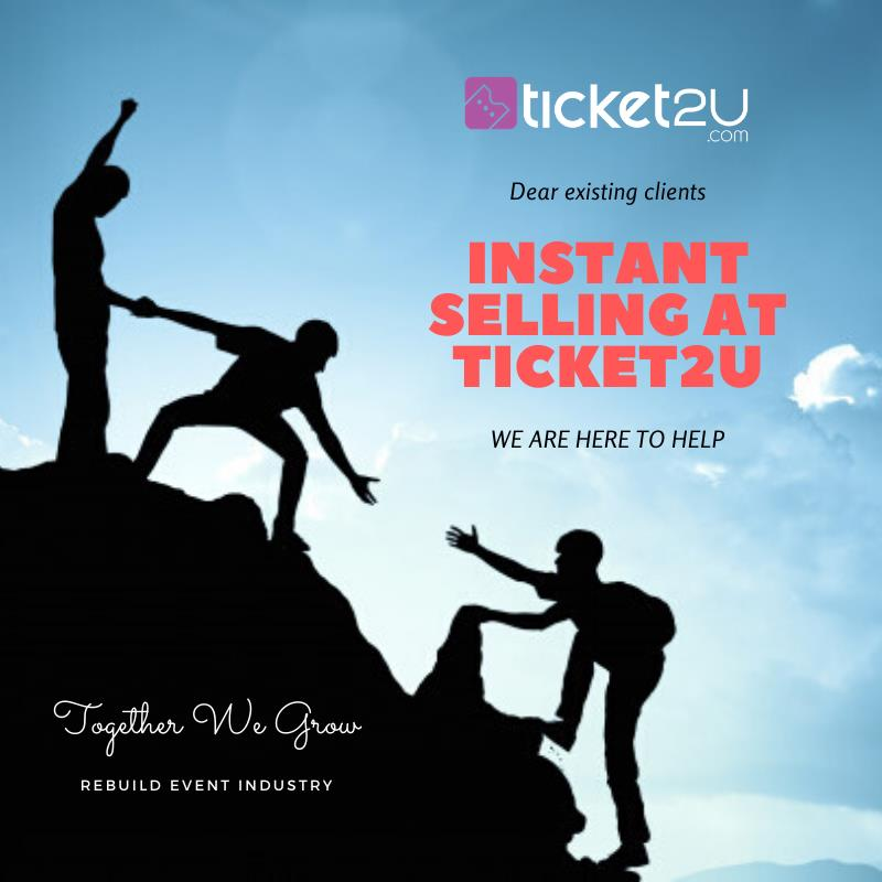 Instant Selling at Ticket2U (Booking Form)