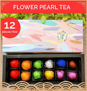 Flower Pearl Flower Tea Gift Box - 9 Flavours 手工龙珠花茶[12颗] 礼盒送礼