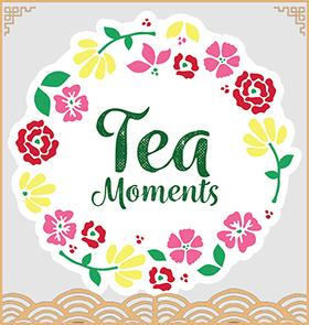 TEA MOMENTS TEST TUBE FLOWER TEA BOX GIFT SET (SET A: Square Box - 3 Tube+ Glass Bottle)