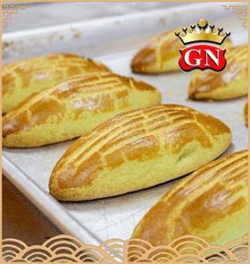 长形上海月饼/老鼠月饼(单黄)